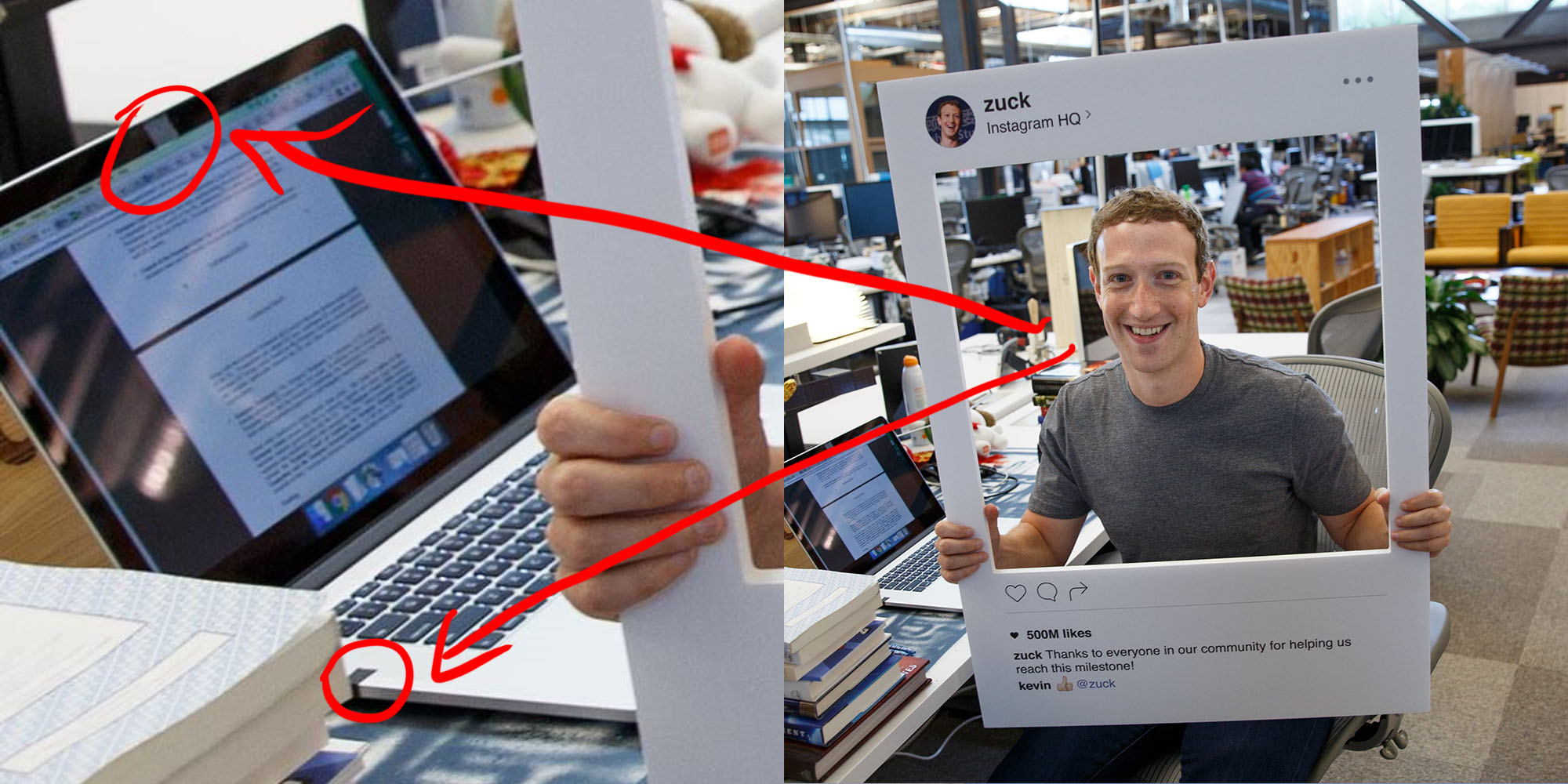 Mark Zuckerberg* tapes his webcam